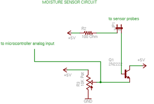Moisture Sensor Circuit – Rob Faludi on door alarm schematic, audio amplifier schematic, metal detector schematic, pressure tank installation schematic, washing machine schematic, water filter schematic, water system monitoring wells, cable tester schematic, water wheel schematic, control schematic, water system schematic, digital voltmeter schematic, current sense switch schematic,