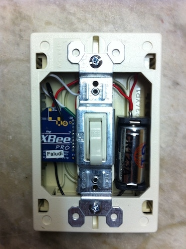 Light Switch Xbee Example Rob Faludi
