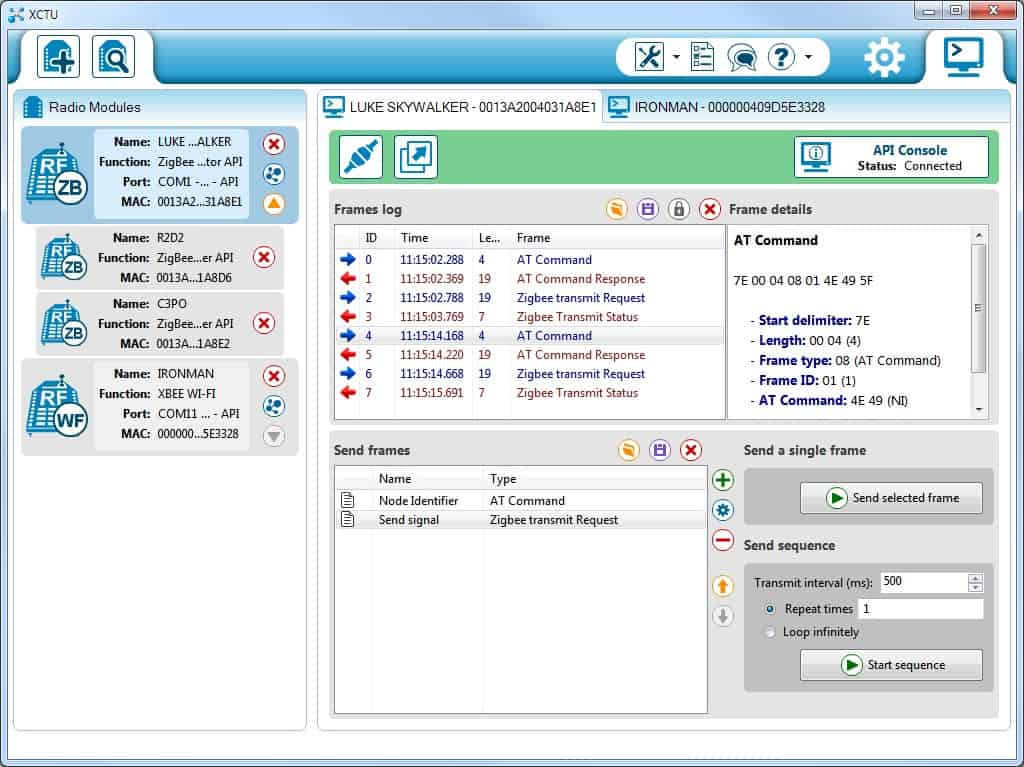 New XCTU for Mac & Windows – Rob Faludi