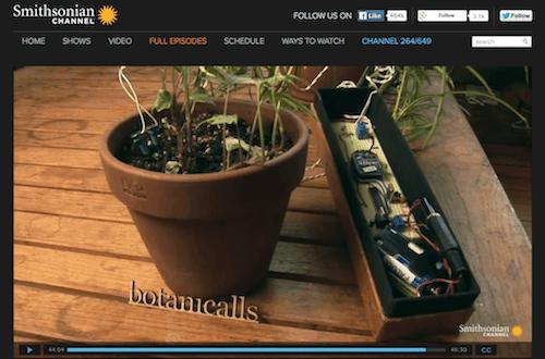 Botanicalls Smithsonian Channel Amazing Plants