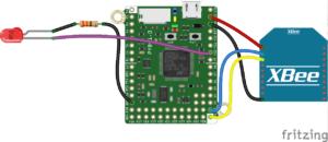 XBee Pyboard Control Pin via UART_bb